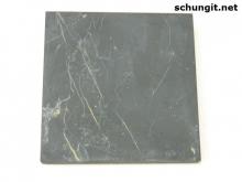 Tile Shungite unpolished 10*10 cm
