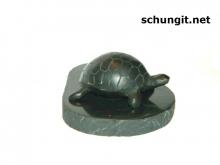 Shungite chepepaha on stand  (small)