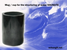 Mug / cup Shungite to structure water