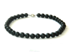 "Shungite chaplet ""South night"" 12mm/35 beads"