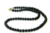 Shungite chaplet 6mm/75 beads