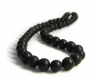 Shungite chaplet 9mm/50 beads