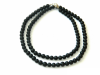 Shungite chaplet 9mm/100 beads