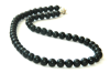 Shungite chaplet 9mm/55 beads