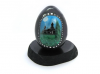 "Shungite egg ""Church in Karelian country"""